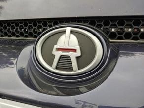 Cylon Head Helmet Car Emblem Badge Logo for Scion Toyota & Others Battlestar Galactica