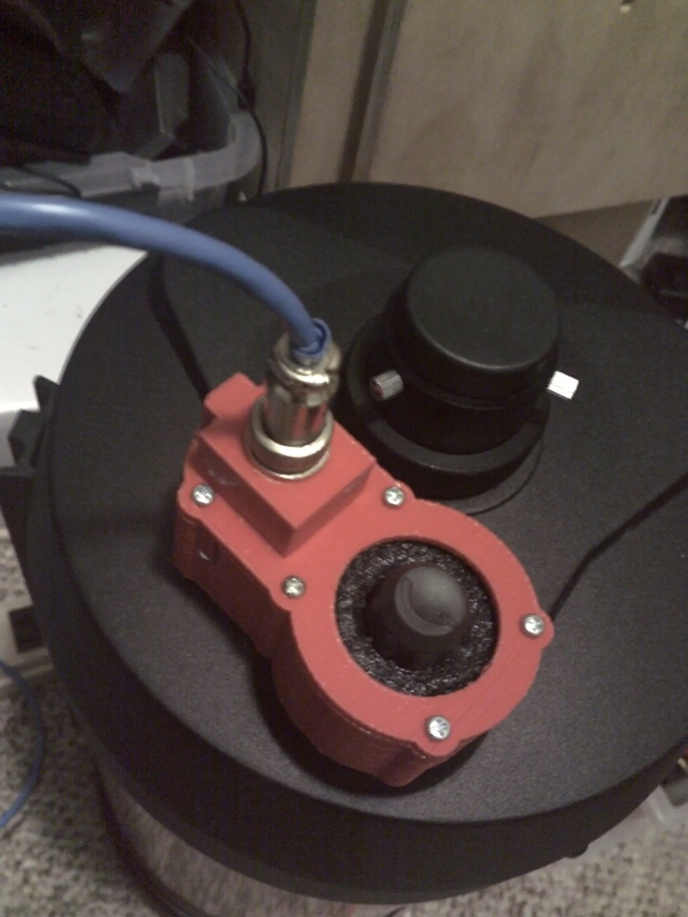 Steppermotor driven telescope focuser