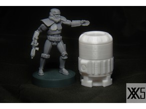 Star Wars Legion scale Rhydonium Fuel Cansister