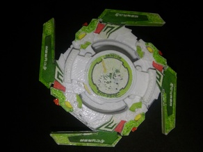 Cyber Driger (Complete Beyblade)