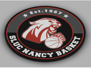 SLUC Nancy Basket Logo / keychain