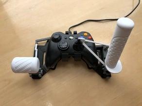 Snap-on Xbox 360 gamepad HOTAS joystick