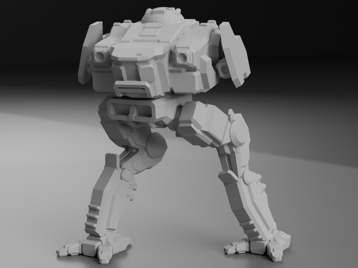CDA-X5 Cicada Prototype for Battletech