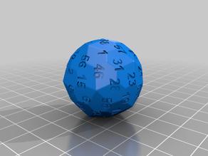 Extensive dice collection (d4, d6, d8, d10, d12, d20, d24, d30, d48, d60, d120)