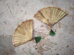 Hand fan of  Douma in Kimetsu no Yaiba