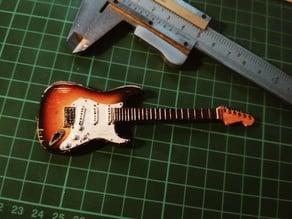 Stratocaster Guitar Miniature