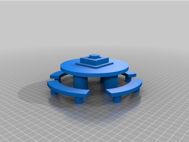 Among Us Emergency Meeting Table By Cleverwhovian Thingiverse