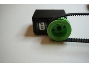 Tooth wheel for LX-16A smart servo