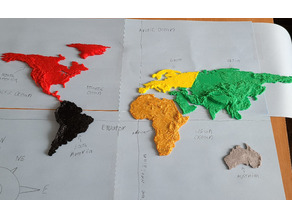 Topographic Continents
