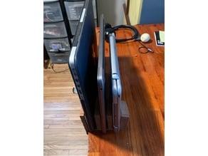 Customizable Multi-Laptop Vertical Stand