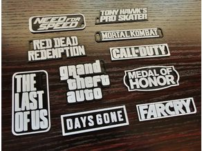 Key Tags - Gamer Collection