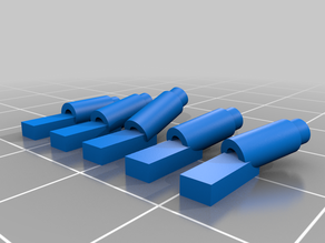 Exhaust tips for 1/64 Vehicles