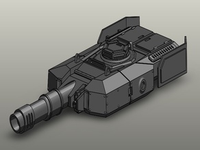Leo Russ MBT41 Tank turret