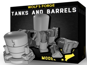 Barrels and tanks