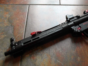 Airsoft Mp5 long handguard