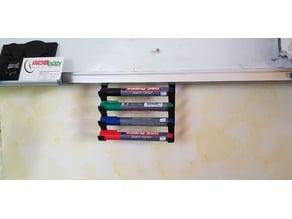 Whiteboard marker holder / pen holder / Stiftehalter