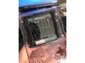 "GameBoy Color (GBC) 2.2"" LCD Screen Bracket"