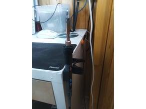 Soldering iron desk holder