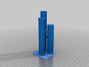 Skyscraper - Triple Tower