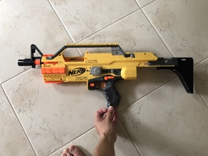 Nerf Stampede SMG Stock