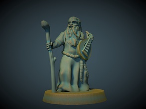 Old bard 28mm (no supports)