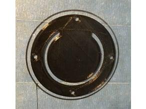 "Boat transom scupper valve 2.75"" OD"