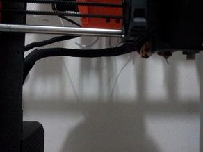Extended Cable Clip For Prusa MK3S