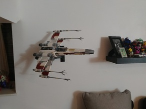 Lego X-Wing UCS 10240 Monitor Mount