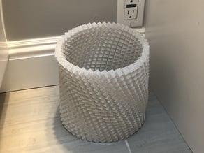 Algorithmic Bathroom Trash Can