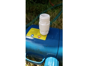 Male to Male Garden Hose Adapter