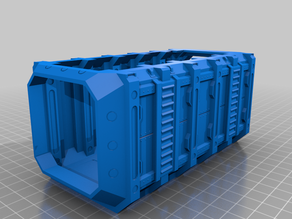 ForgeCrate w/ Open Top and Flat Bottom