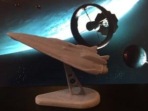 Elite Dangerous ship mount plate