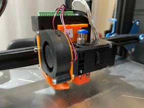 Adjustable Fan Mount for the Wham Bam MUTANT System