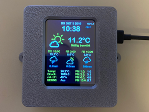 ESP32 Weather Station (BME280, SPS30)