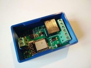 Snapfit Enclosure for ESP8266 Yunshan/Wemos Relay Module