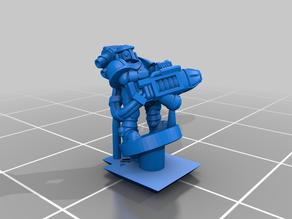 Galactic Crusaders - Anti Tank Heavy Weapons - 6-8mm
