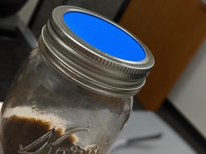 mason jar sieve - cold brew
