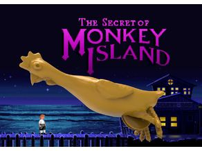 Secret of Money Island - Rubber Chicken with a Pulley in the Middle !  V2