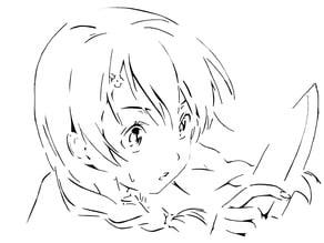 Megumi stencil