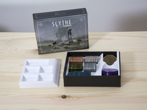 Scythe - Metal coins holder for the Encounters box