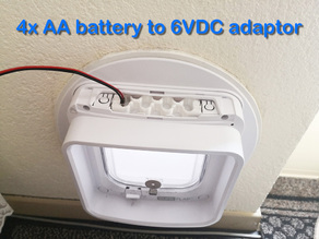 4x AA Battery to 6VDC adapter