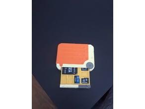 Fallout Holotape MicroSD Card Storage
