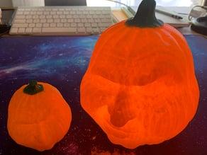 Grumpy Pumpkins Recessed for LED Lights