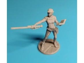 Artificer Render Elf Miniature (female)