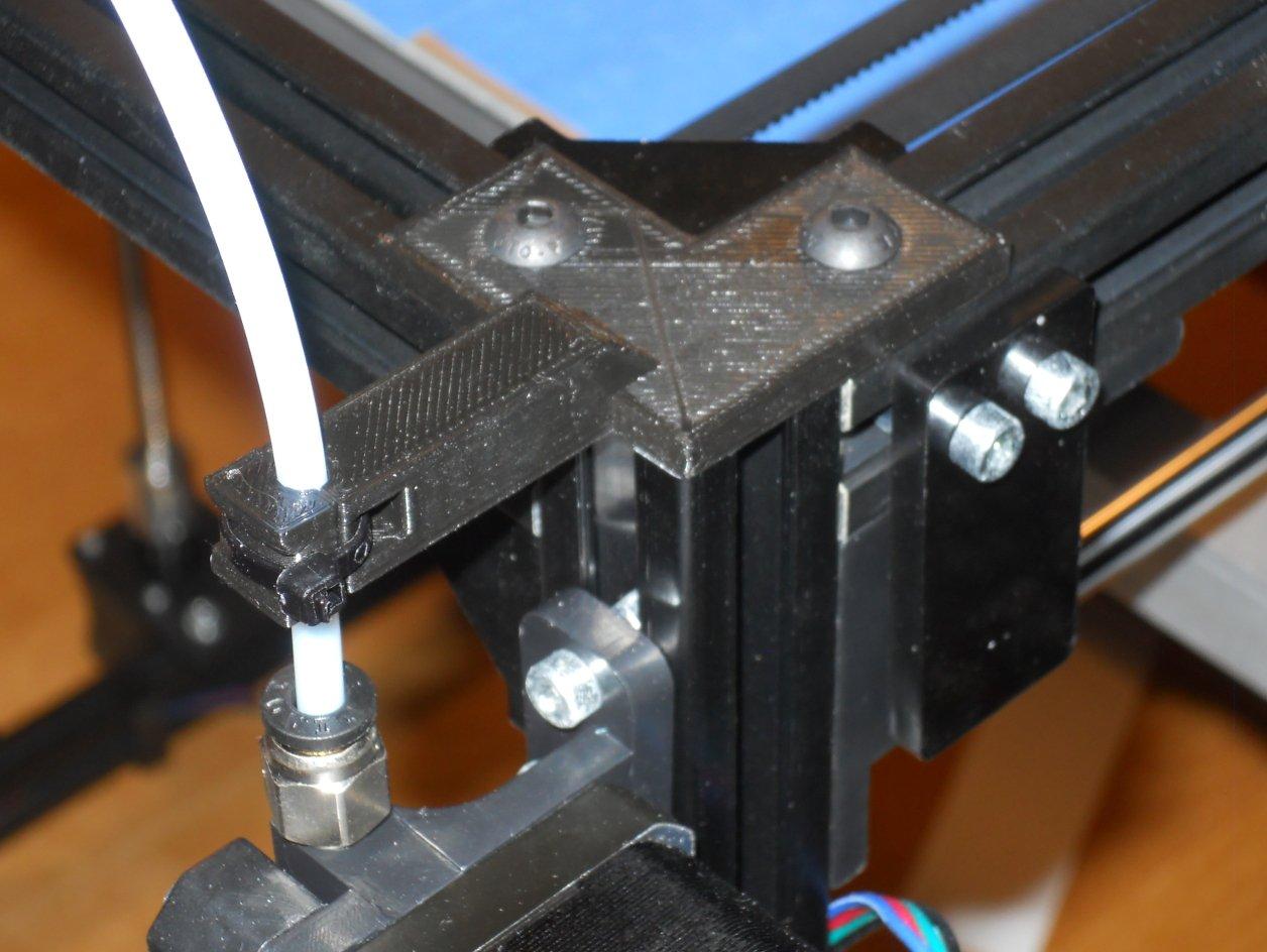 FLSun Cube Bowden Tube Strain Relief