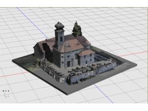 3D scan of a small Bavarian Church
