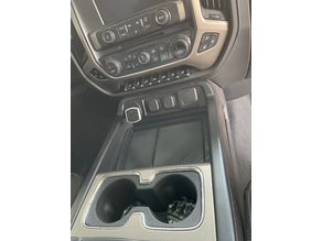 Tray for GMC 2018 1500 center console