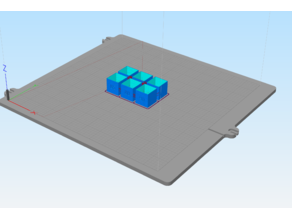EXTRUSION MULTIPLIER TEST CUBES