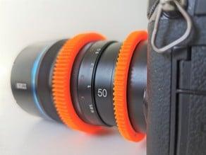 Sirui 50mm Anamorphic 1.33x - Follow Focus Gear