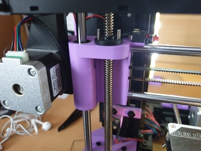AM8 X Holders for E3D POM or Anti Backlash Nut